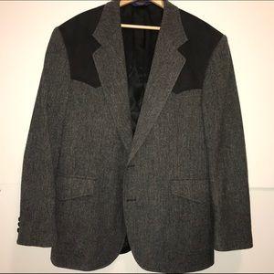 Vintage Pendleton Wool Western Sport Coat Blazer
